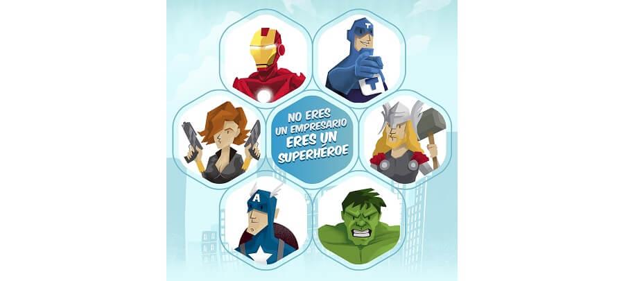¿Qué superhéroe empresarial eres?