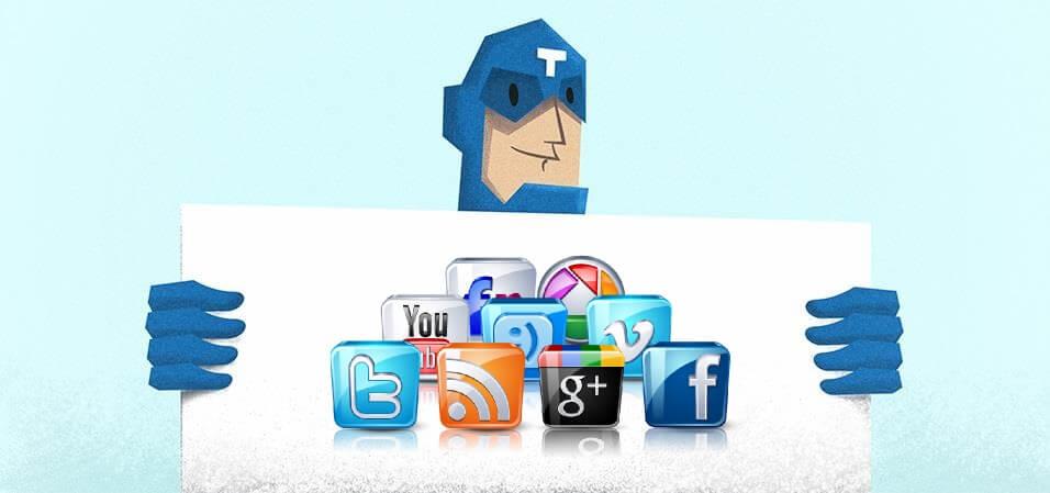 Redes sociales Gestron