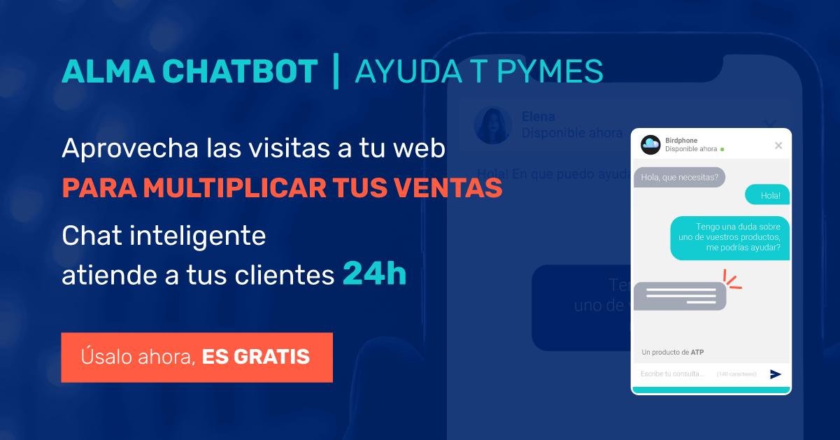 Registrate gratis en la plataforma de chatbots